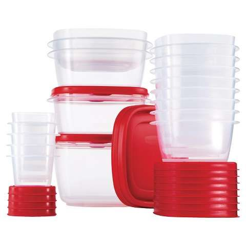 Rubbermaid 34-pc food storage container set Black friday deals