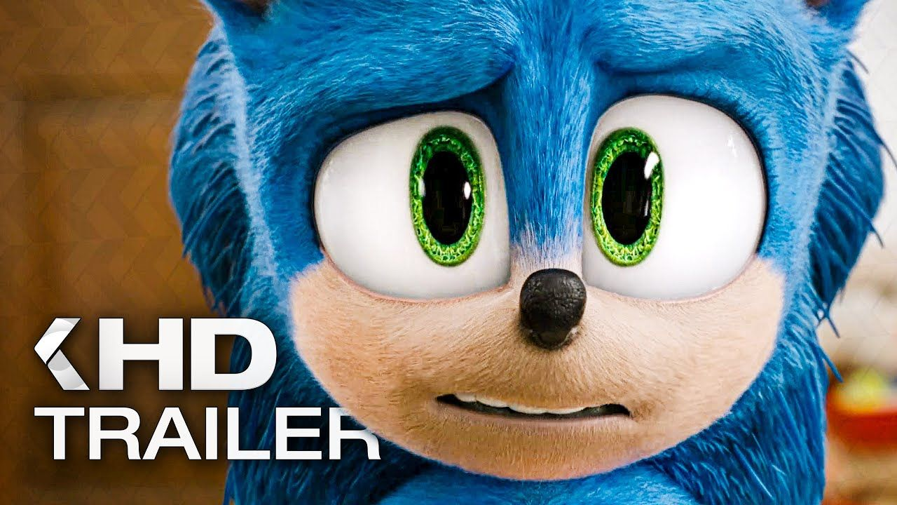 Sonic The Hedgehog Trailer 2 2020 Sonic The Movie Sonic