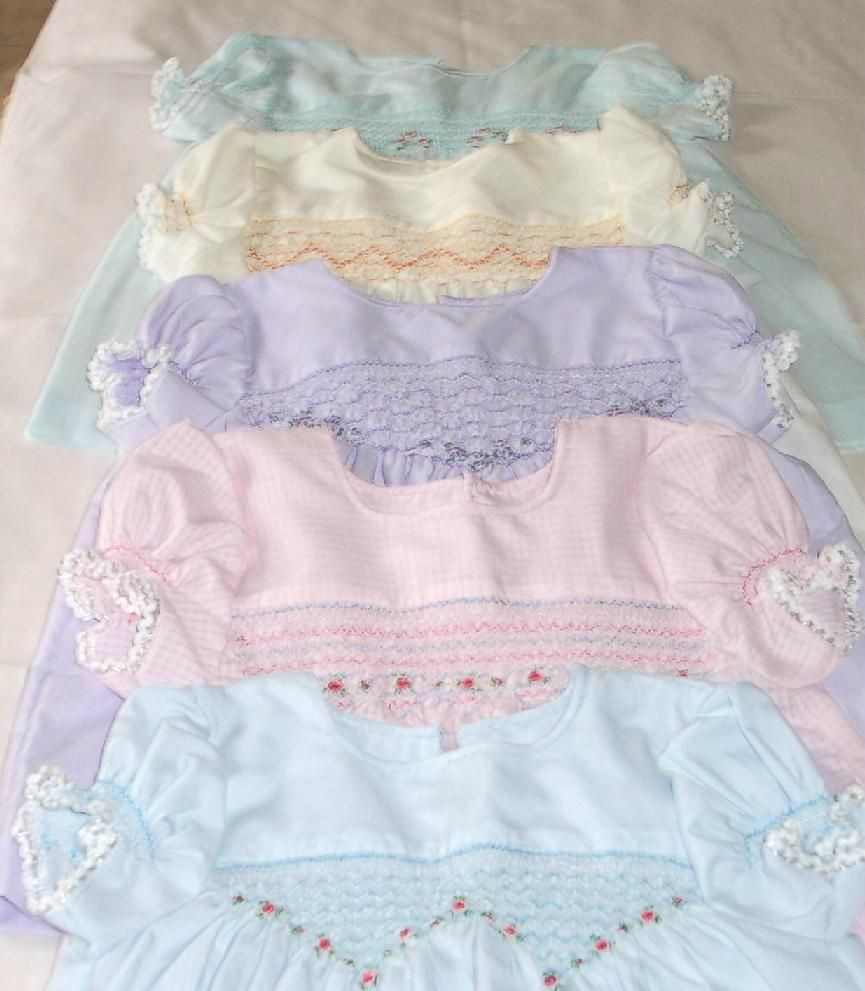 smocked baby clothes images - Pesquisa Google | Smocking ...