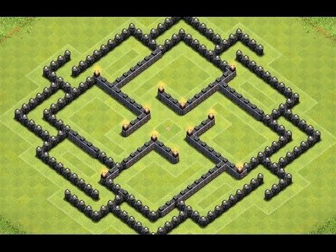 Base Coc Th 8 Labirin 6