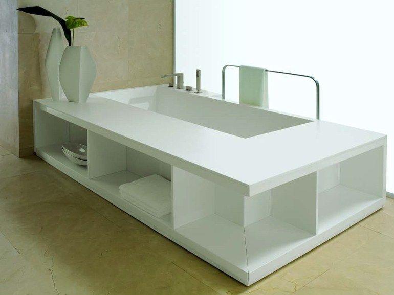 rechteckige badewanne status by rifra | bath tub & sink, Hause ideen