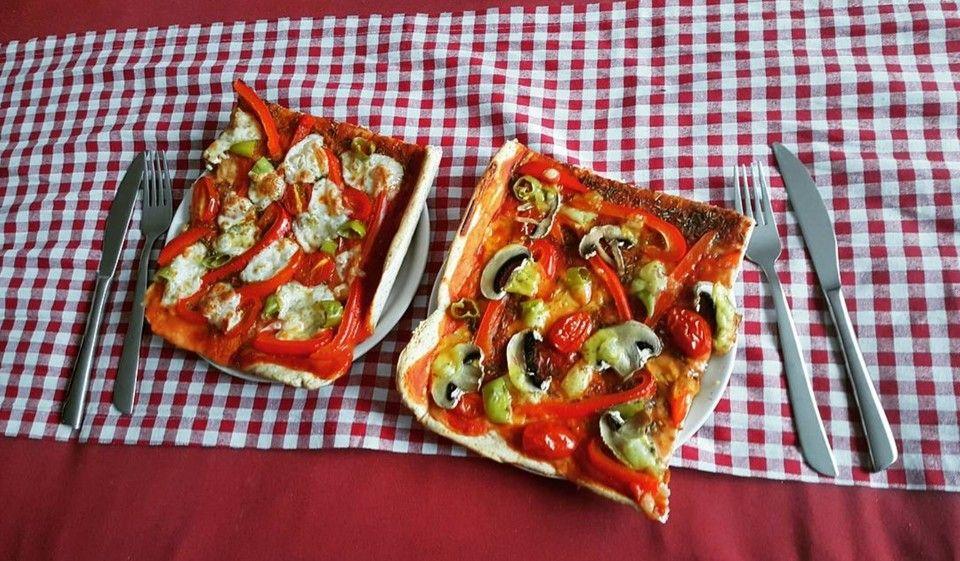 Pizzateig Kalorien Und Fettarm Weight W Pinterest
