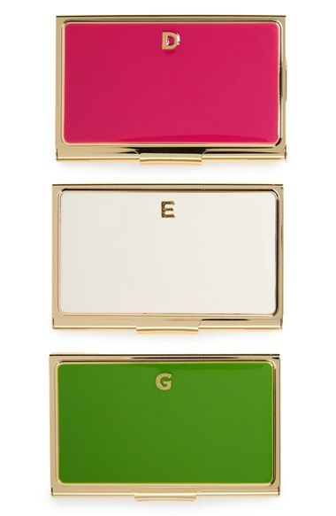 Kate Spade New York One In A Million Business Card Holder Nordstrom Business Card Holders Kate Spade Card Holder Monogram Card