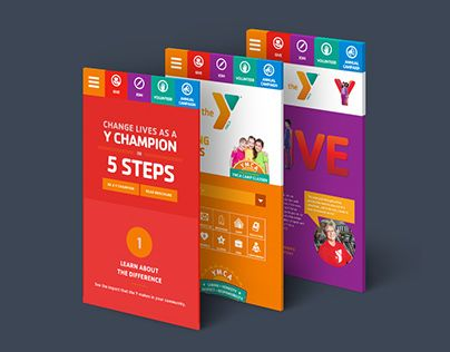 Check Out This Behance Project Ymca Responsive Web Design Https Www Behance Net Gallery 30052685 Ymca Responsive Web De Web Design Quotes Web Design Ymca