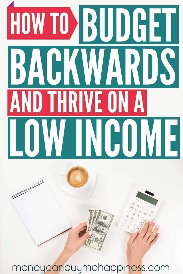 How to Budget Backwards and Stop Living Beyond Your Means#budget #living #means #stop