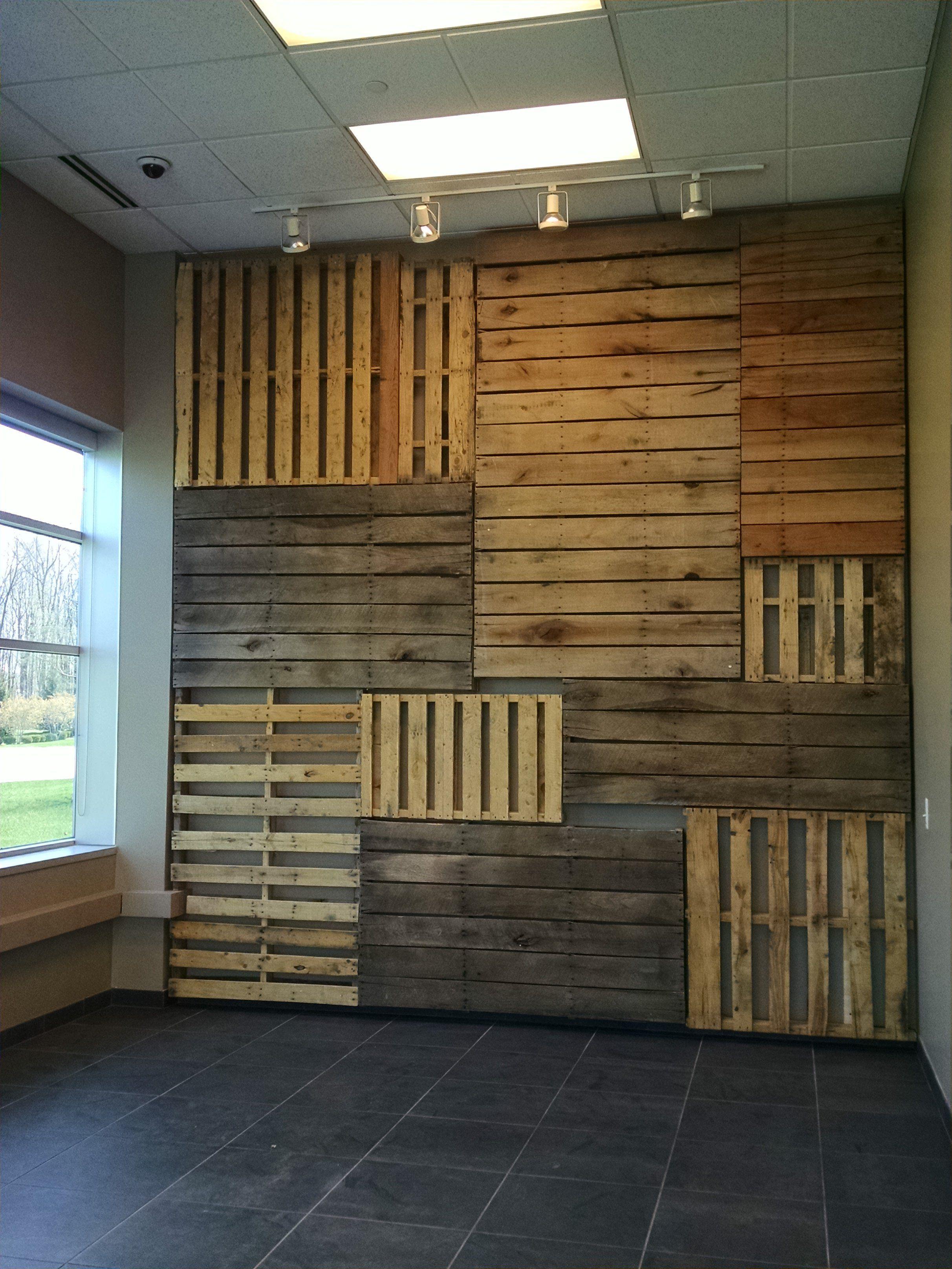 Pallet Focal Wall Wood Pallets Focal Wall Wood Wall Design