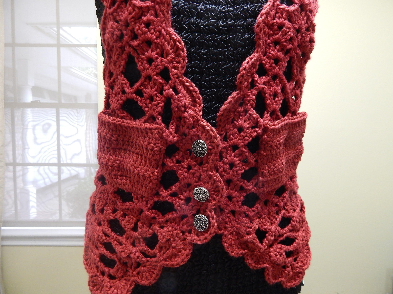 Chaleco Crochet   CHALECOS   Pinterest