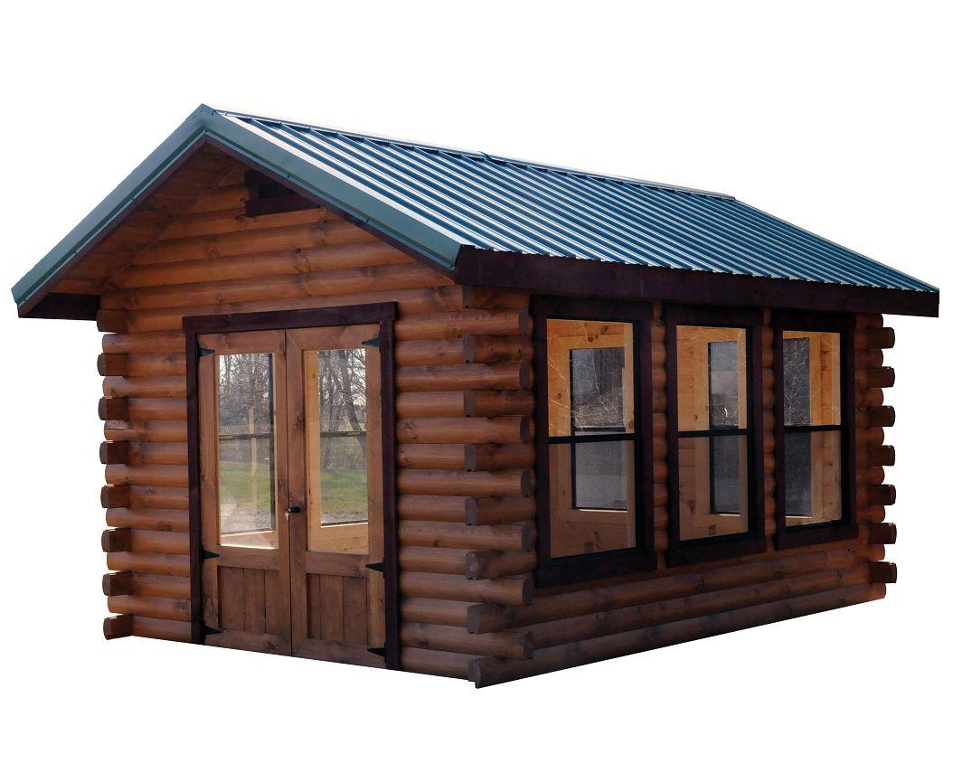 Camper Log Cabin   Wayside Lawn Structures
