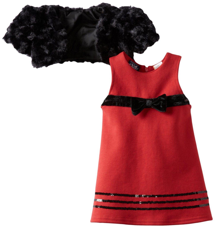 So La Vita Baby Girls Infant Swirl Shrug Dress $19