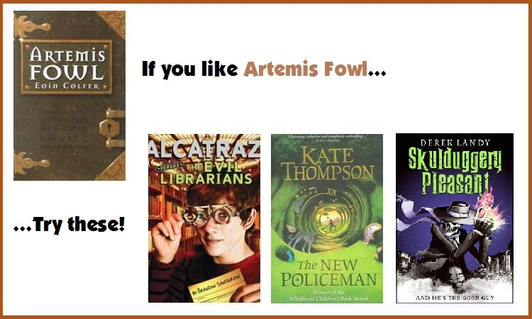 For Fans Of The Artemis Fowl Series By Eoin Colfer Try The