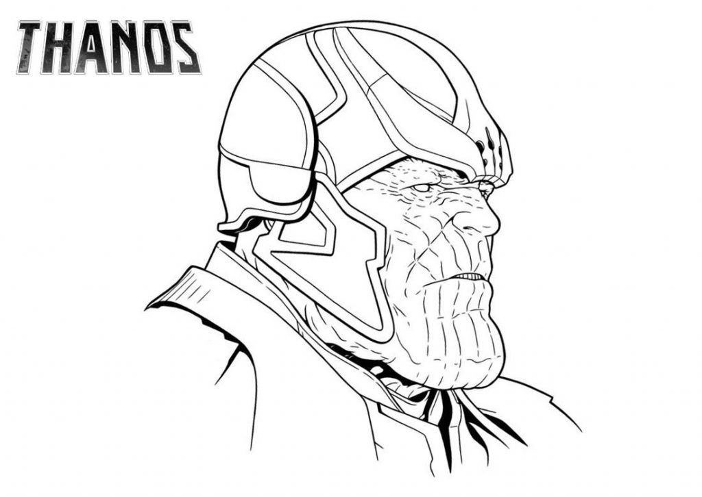 Thanos Coloring Pages Best Coloring Pages For Kids Coloring Pages For Kids Coloring Pages Avengers Coloring Pages