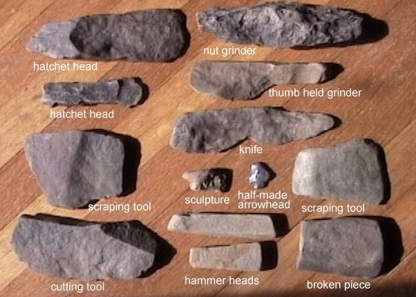 Palaeolithic And Mesolithic Age Hunting And Gathering Native American Tools Indian Artifacts Stone Age Tools