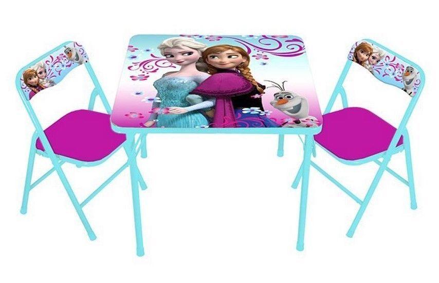 Cheap Bedroom Sets Kids Elsa From Frozen For Girls Toddler: NEW~Disney Frozen Anna, Elsa & Olaf Activity 3-PC Table