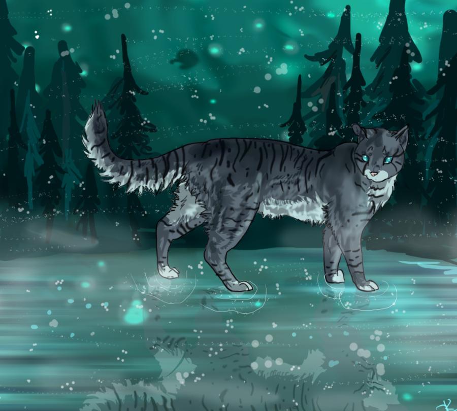 Jayfeather In Starclan By Kleslie Deviantart Com Warrior Cats
