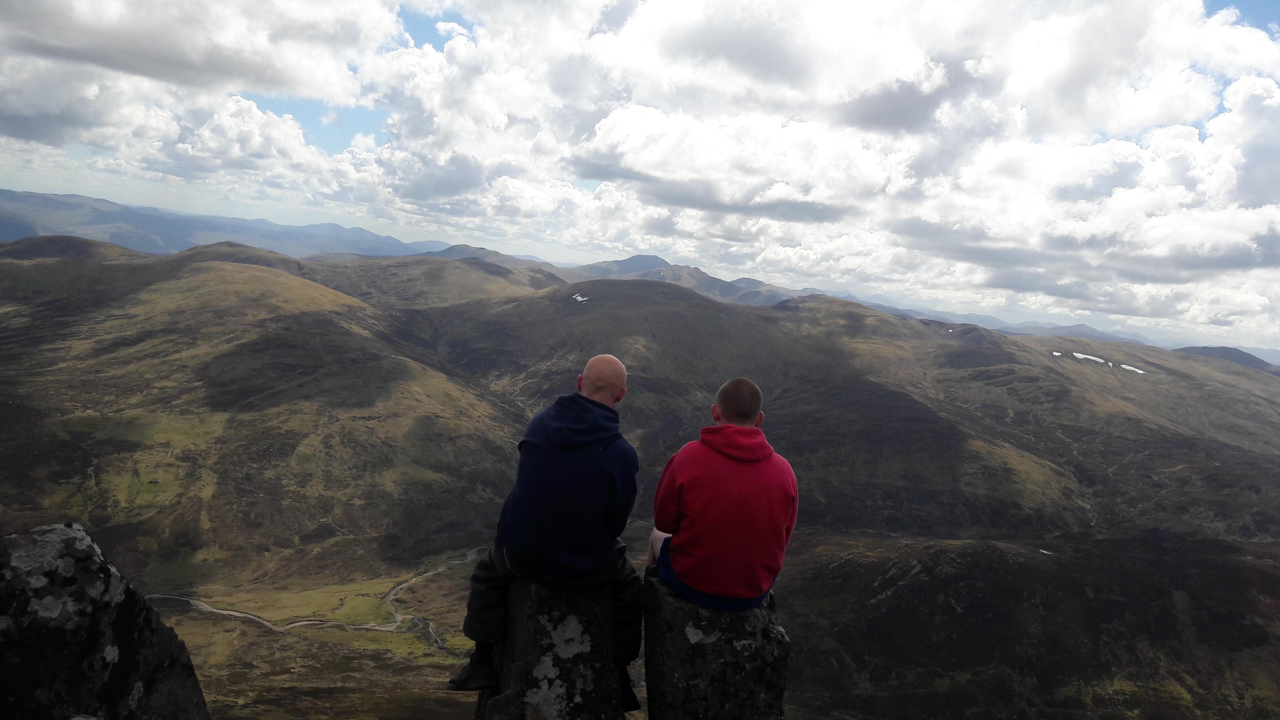 Schiehallion in Scotland My 4th Munro hiking camping outdoors