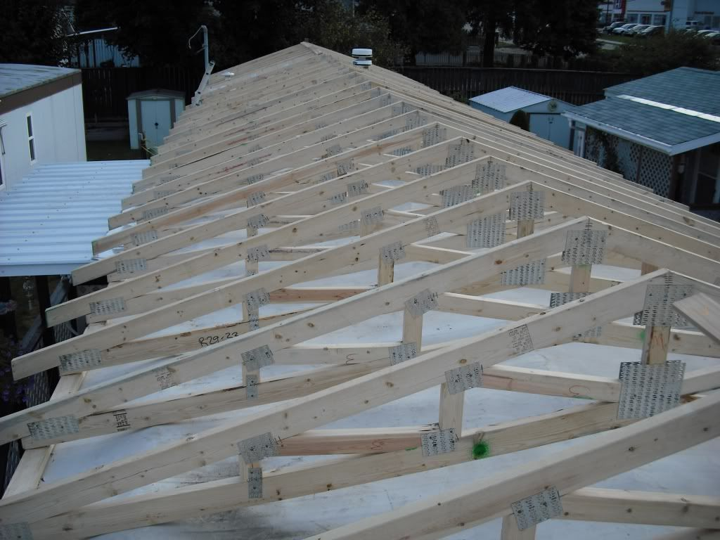 Metal Roof Mobile Home General Discussion Contractor Talk Mobile Home Roof Mobile Home Renovations Remodeling Mobile Homes