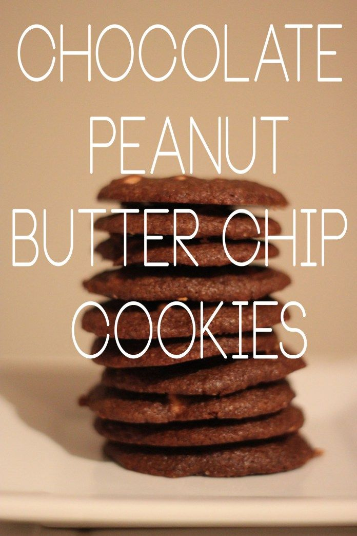 chocolate peanut butter cookies Cookie mood to bake for friends and family;-)