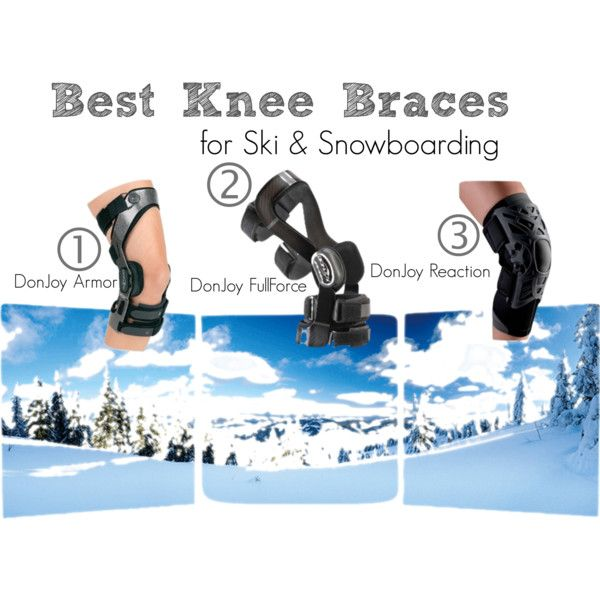 f49c5f0a9f Best Knee Braces for Skiing & Snowboarding | Our blog highlights the top 3 knee  braces if you're hitting the slopes this winter! #skiing #snowboarding # ...