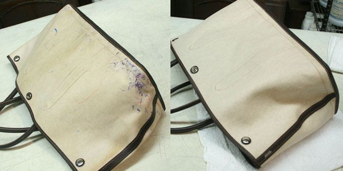 Ink Stain Removal From Leather Purse