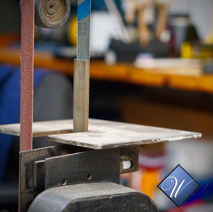 Belt Sander Jewelry making tools, Shop design, Belt sander