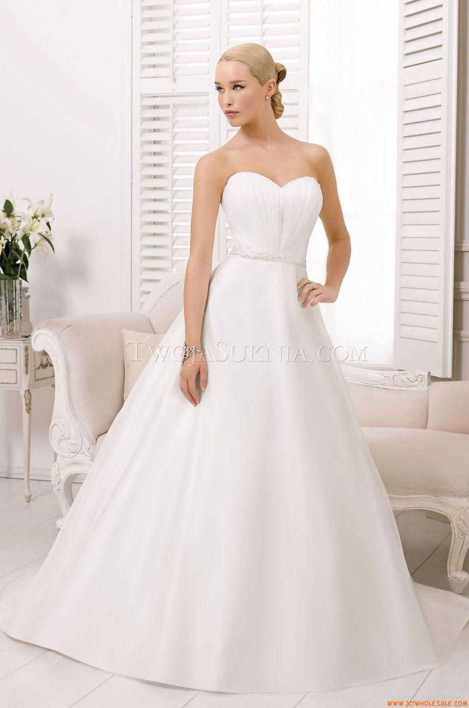 Robe de mariée Divina Sposa DS 132-34 2013 | Wedding dresses, Wedding dress chiffon, Luxe ...