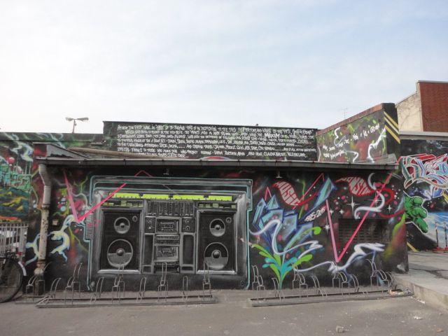 Street art near Moritzplatz, Berlin