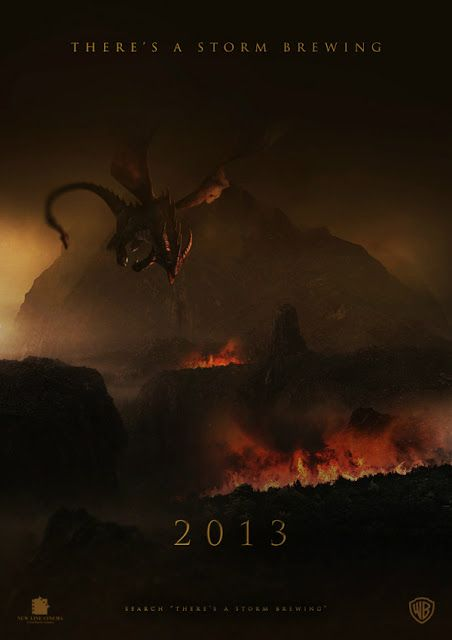 The Hobbit The Desolation Of Smaug U S Official Trailer 1 2013 Lord Of The Rings Jerry S Hollywo La Desolación De Smaug Hobbit El Señor De Los Anillos