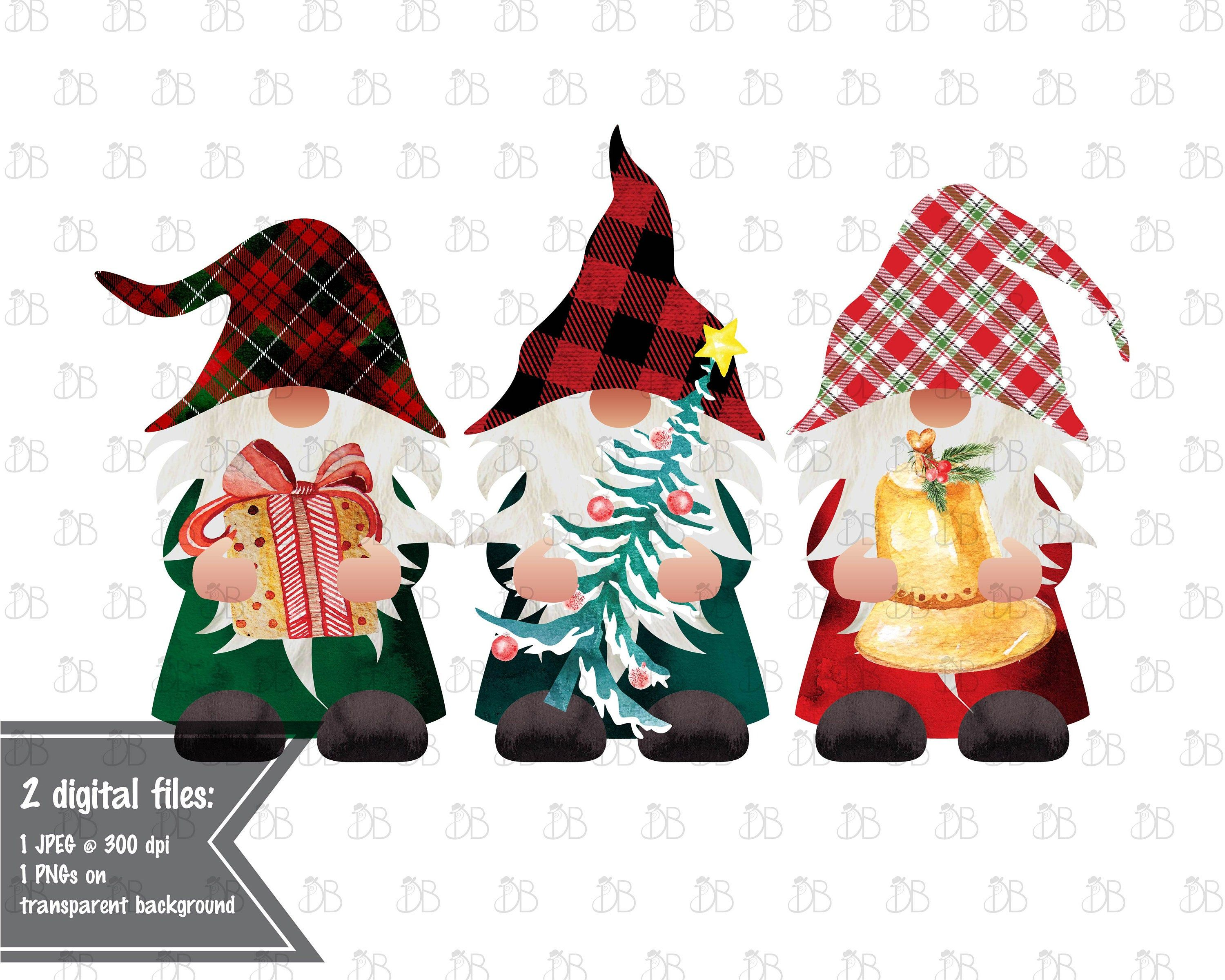 Merry Christmas Jpeg 2020 Christmas Gnomes   Merry Christmas   Jpeg PNG Design  Sublimation