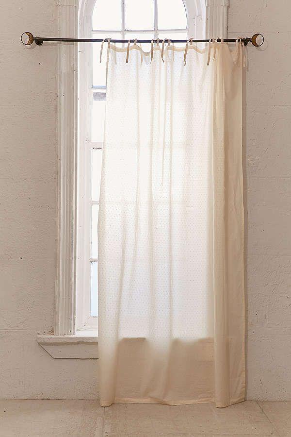 Mid-Century Modern Wood Curtain Rod | Curtains, Urban ...