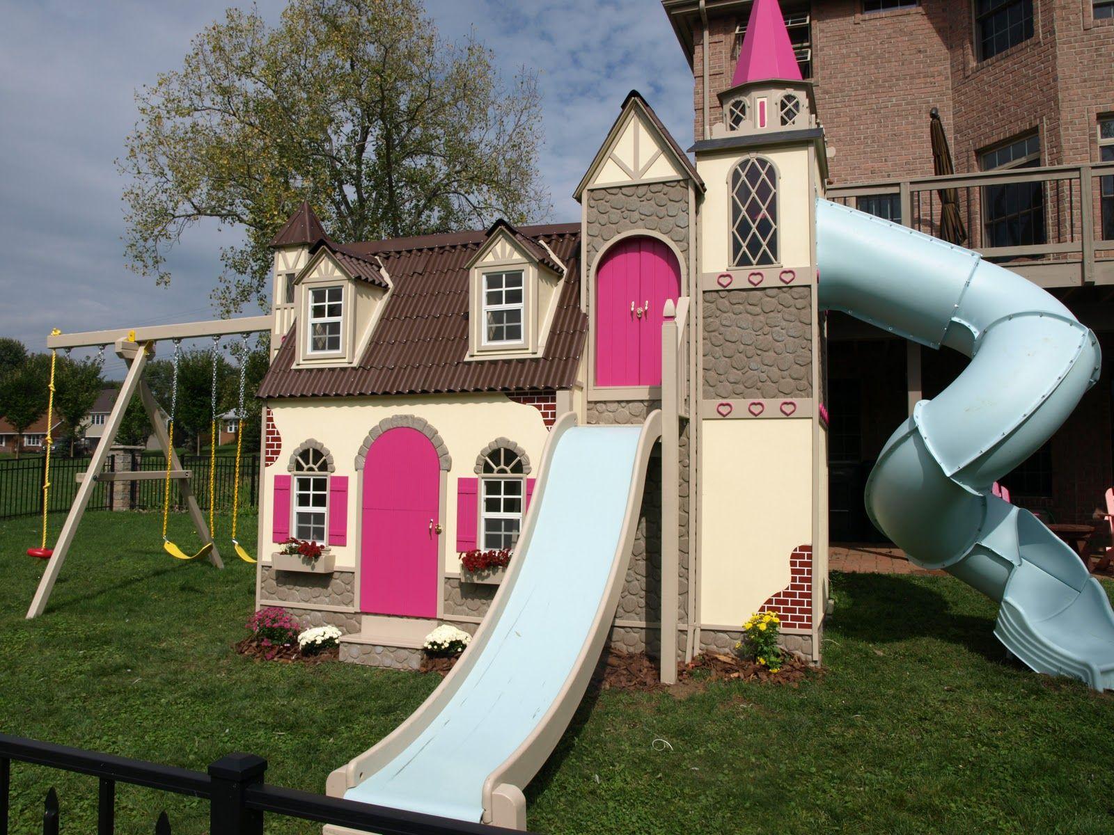 Design intérieur extérieur de jeux maison pour enfants | Baby ...