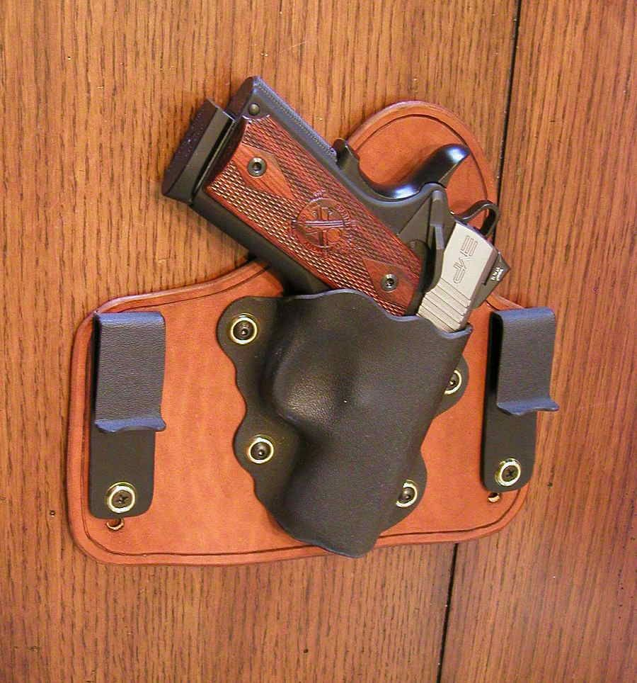 My holster for a Springfield Armory EMP | Gun Stuff