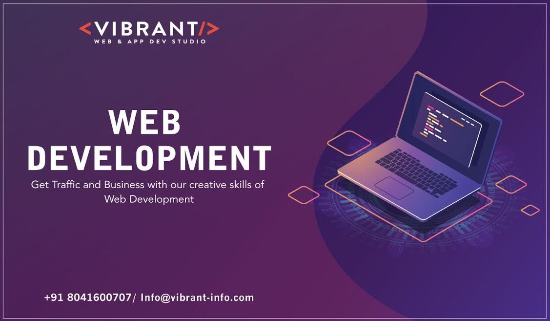 Website Development Company In India Vibrant Web Development Website Development Company Website Development