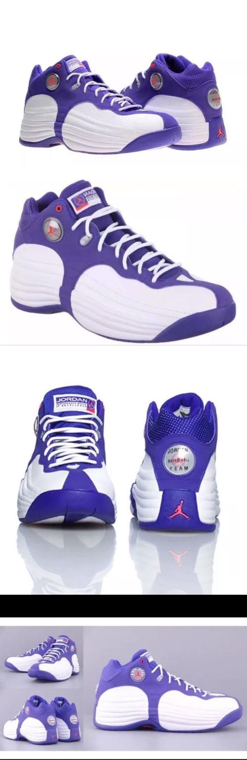 b3b2f9a93e1 ... norway basketball new w box size 12 mens air jordan jumpman team 1  purple white 1f967