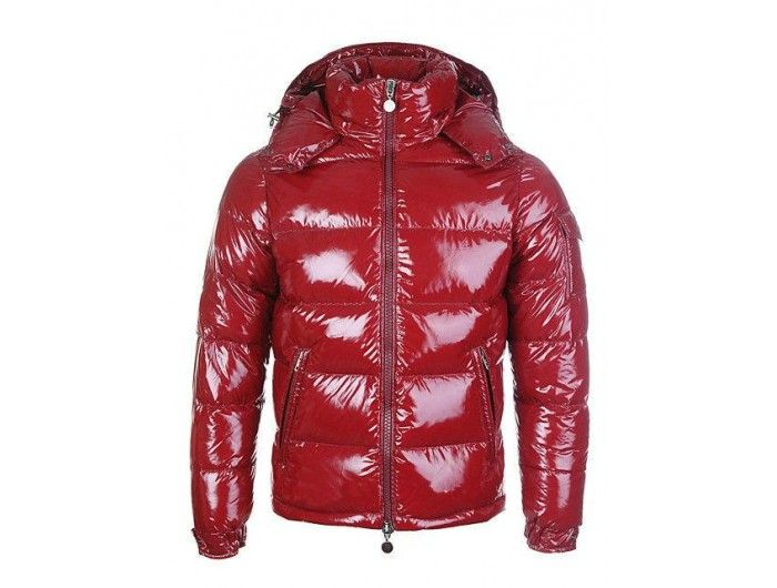 d0c0b791afc9 Moncler maya men down jackets shiny red