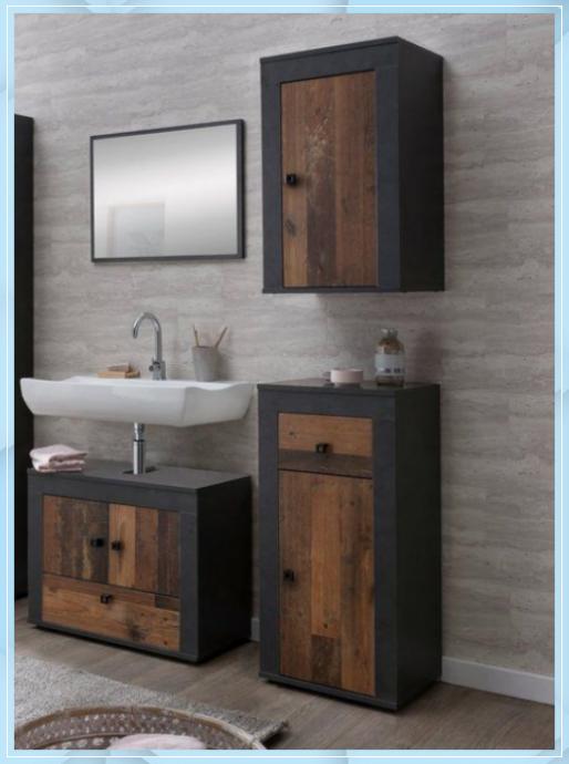 Badezimmer Set Rugen Set 4 Tlg Wascht Waschtisch Holz Beton Badezimmer Set Rugen Set 4 Tlg Wa Badezimmer Set Waschtisch Holz Badezimmer Holz