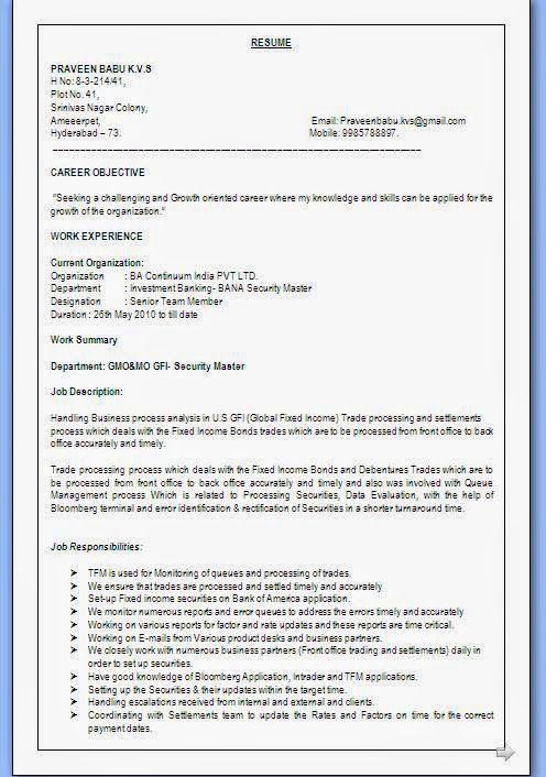 builder resume Sample Template Example of Excellent Curriculum Vitae