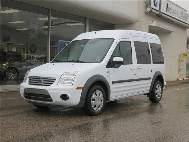 New 2013 Ford Transit Connect Xlt Premium Wagon White Van