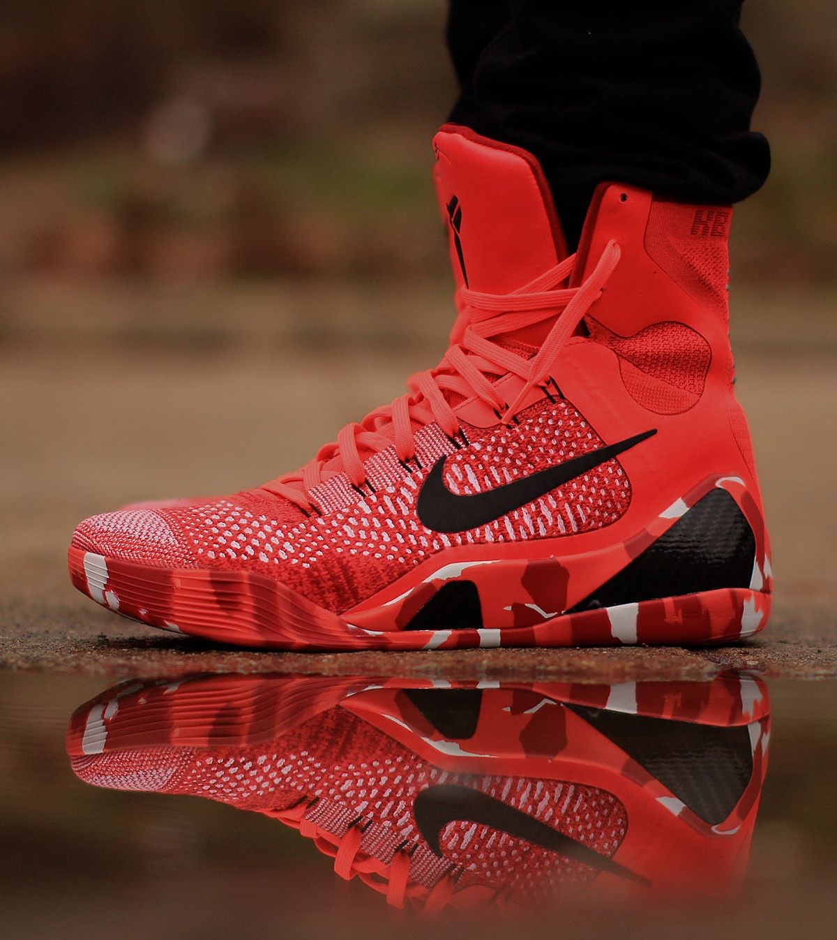 "best service d3368 5dab3 Nike Kobe 9 Elite ""Knit Stocking"" (Christmas Pack)"