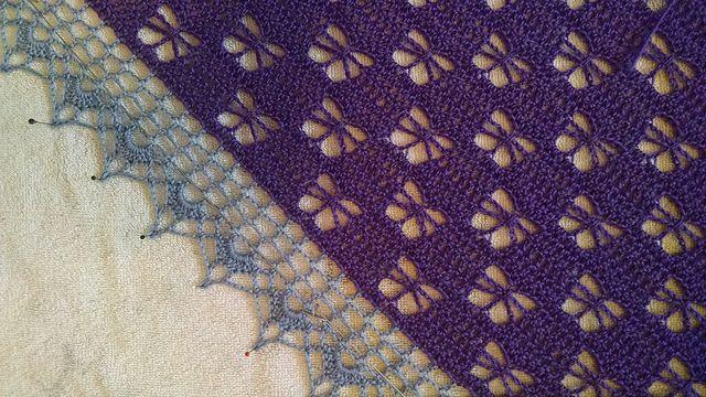 Ravelry Butterfly Stitch Prayer Shawl Pattern By Njsharon And