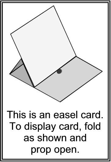 Easel Card Sticker Easel Cards Cards Card Making Tutorials