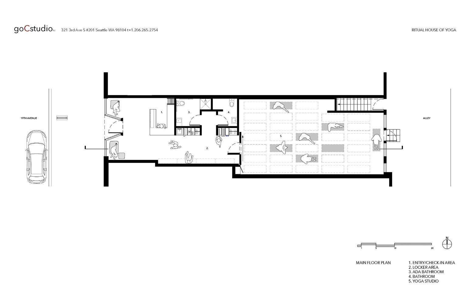 Galeria De Cuales Son Las Claves De Diseno Arquitectonico De Un Espacio De Yoga Y Meditacion 25 Yoga Studio Interior Studio Floor Plans Yoga Studio Design