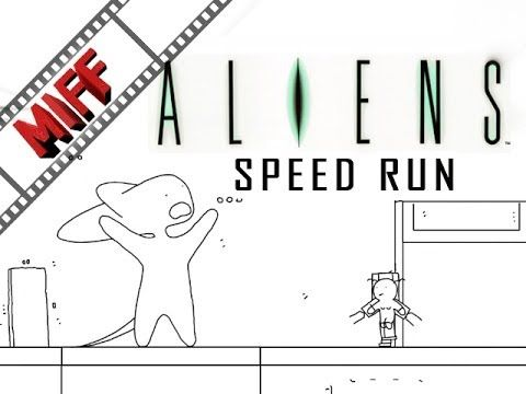 Speedrun: Aliens in 60 seconds (Machinima Interactive Film Festival)