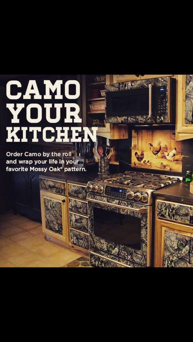 Interesting idea for those who love camo!  Camo home decor, Camo
