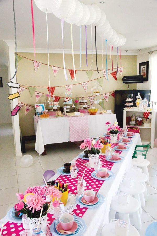 mad tea party photoshoot diy Google