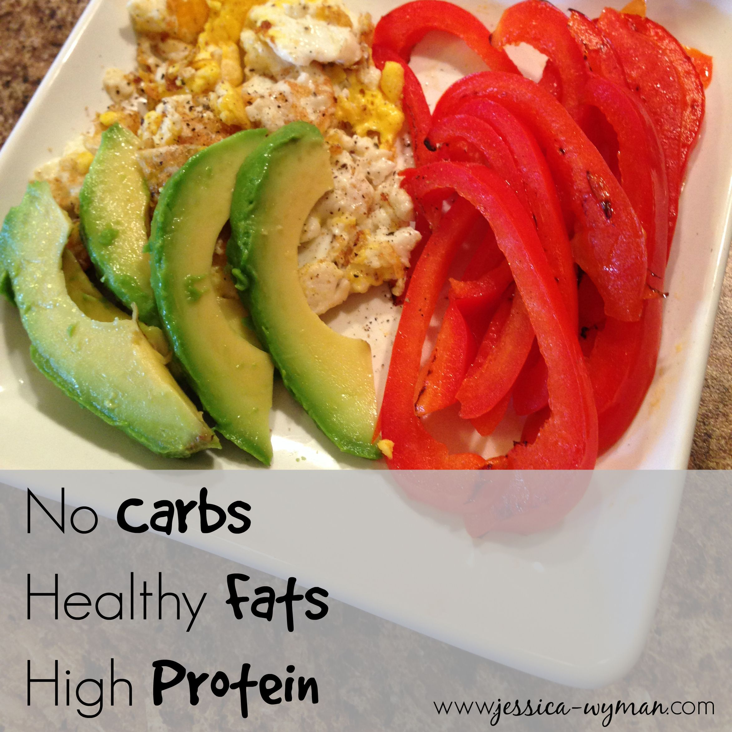 """No Carb, High Protein, Healthy Fats 4 ingredient """"fast"""