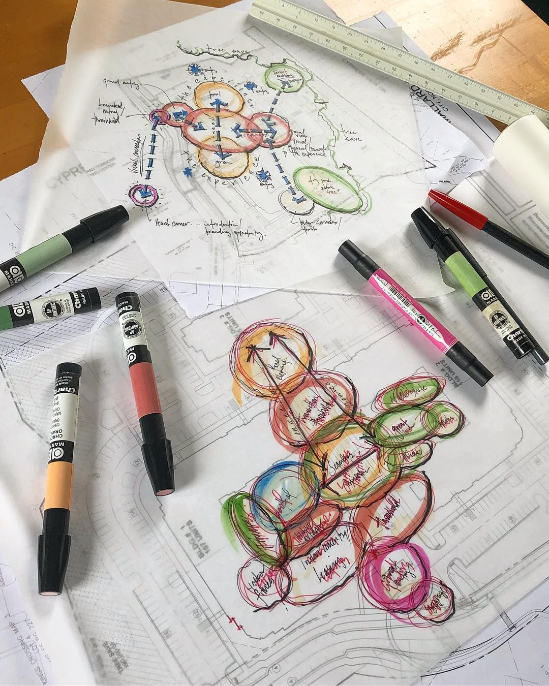 pencils down do you still use bubble diagrams design art artwork sketch process illustration arquitetapage  [ 1080 x 1350 Pixel ]