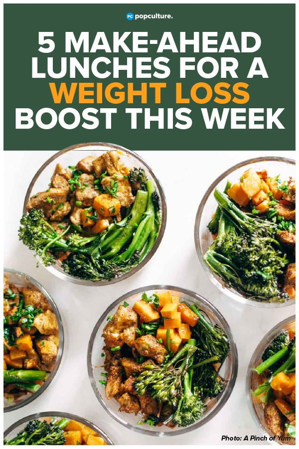 5 Easy Make-Ahead Lunches to Give You a Weight Loss Boost This Week images