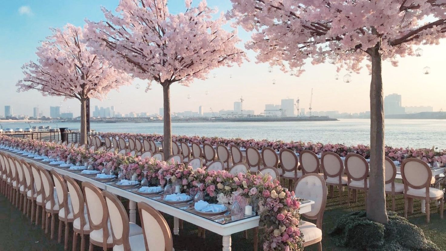 Cherry Blossom Tree Rental For Weddings Events Los Angeles Dreams In Detail Blossom Trees Cherry Blossom Tree Cherry Blossom Wedding