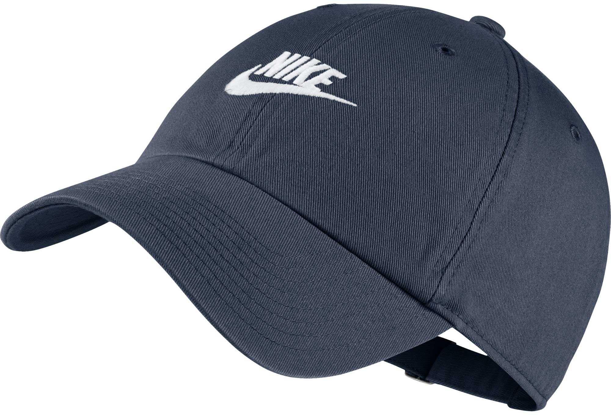 official photos f6fed 64f05 Nike Sportswear H86 Cotton Twill Adjustable Hat, Blue