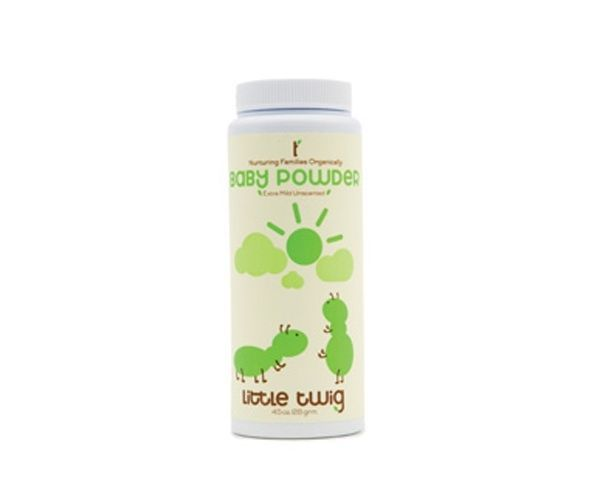 Organic Baby Powder - Little Twig  #Extra #s #baby #natur #e $14.00 #organic #natural #ecofriendly #sustainaable #sustainthefuture